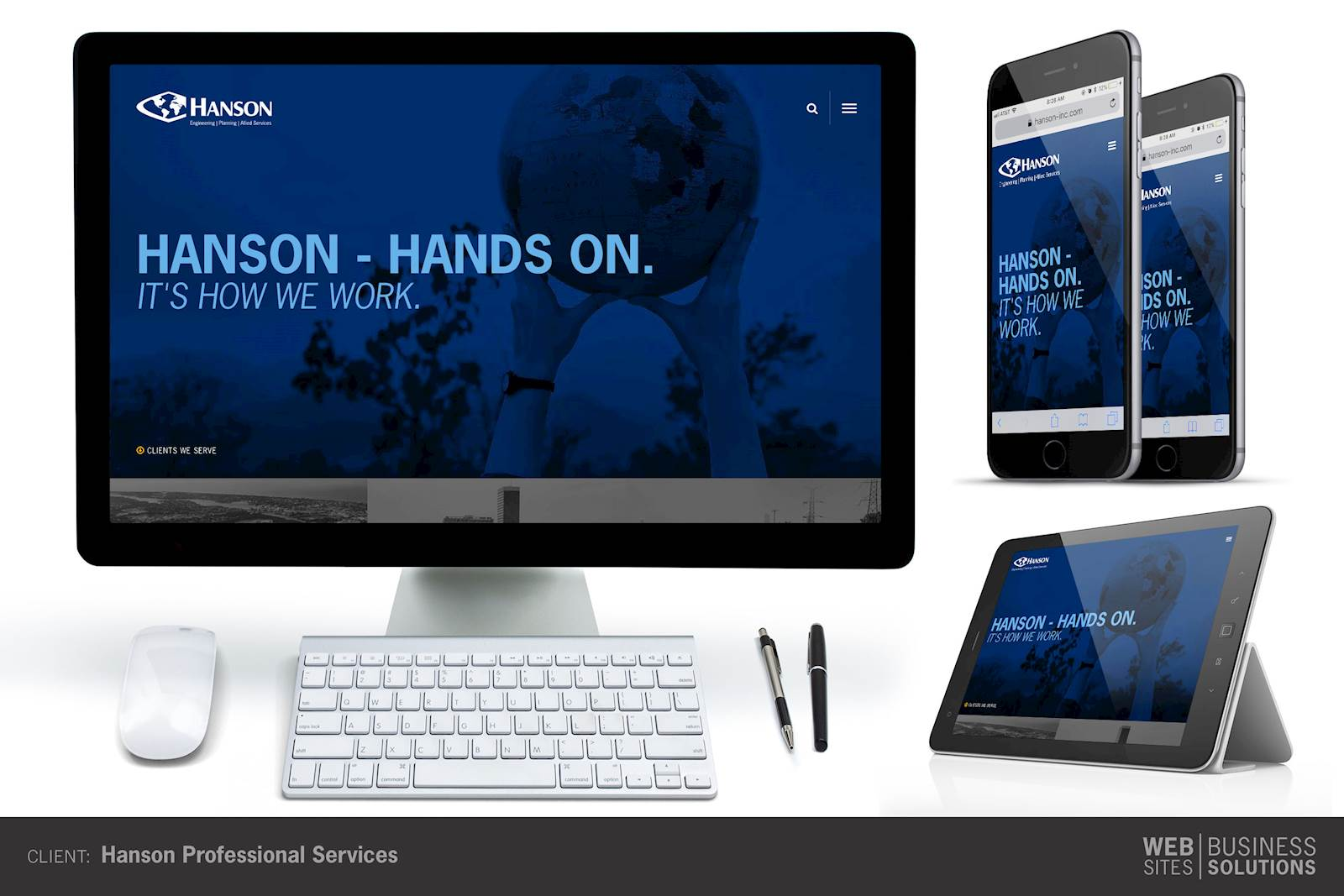 Hanson Professional Services launches with LRS Antilles