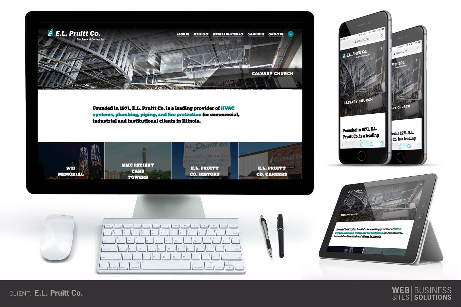 EL Pruitt Website Redesign LRS Antilles CMS